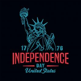 Cre8iveSkill's Statue of Liberty Independence Day Embroidery Design
