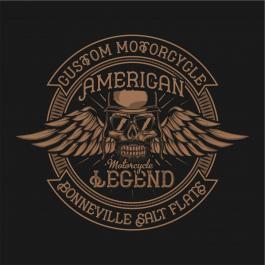 Vector Design: American Legends Motorcycle