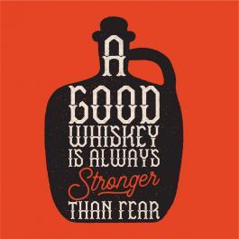 A Good Whiskey Vector Art Design