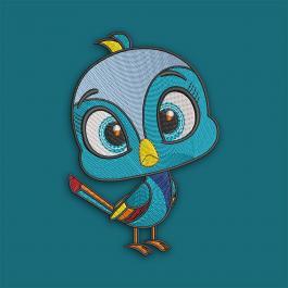 Innocent Bird Digitized Embroidery Designs