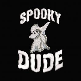 Spooky Dude Embroidery Design | Cre8iveSkill