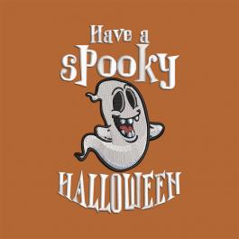 Have A Spooky Halloween Embroidery Design | Cre8iveSkill