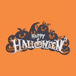 Scary Pumpkin Machine Embroidery Design-Cre8iveSkill