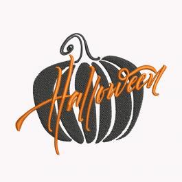 Pumpkin Halloween Embroidery Design-Cre8iveSkill