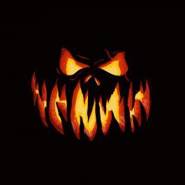 Scary Pumpkin Face Vector Design-Cre8iveSkill