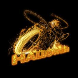 Halloween Ghost Rider Vector Graphics Design-Cre8iveSkill