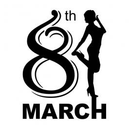 8th March International Women\'s Day