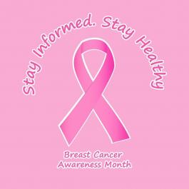 Breast Cancer - Pink Ribbon Vector Art