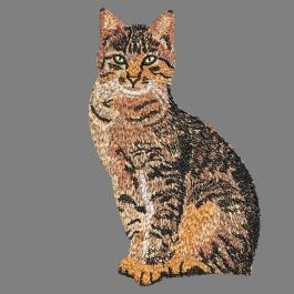 CAT Digitized Embroidery Design - Cre8iveSkill