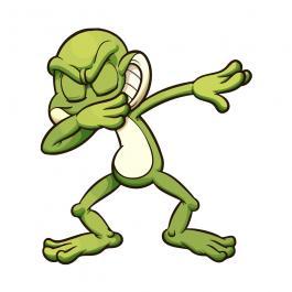 Frog Posing