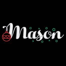 Mason Hello Christmas