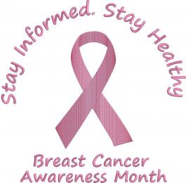 The Pink Ribbon For Awareness