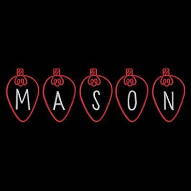Mason Christmas Lights