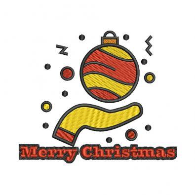 Digitized Christmas Ball