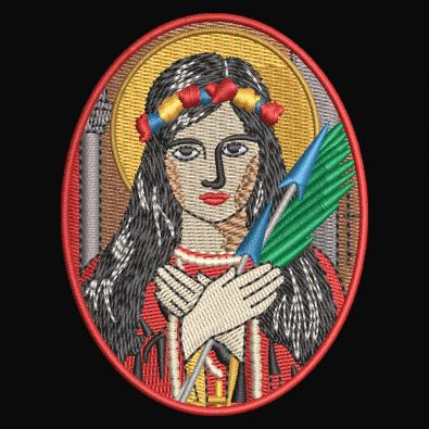 Woman Embroidery