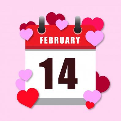 14 February Vector Art
