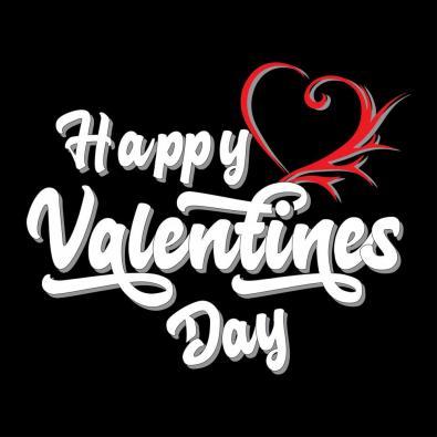 Vector Art: Happy Valentine Day