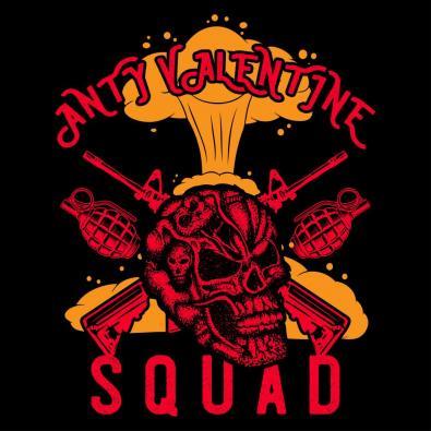 Anti Valentine Day Squad Vector Art