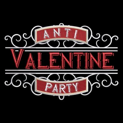 Embroidery Design: Anti-Valentine's Party