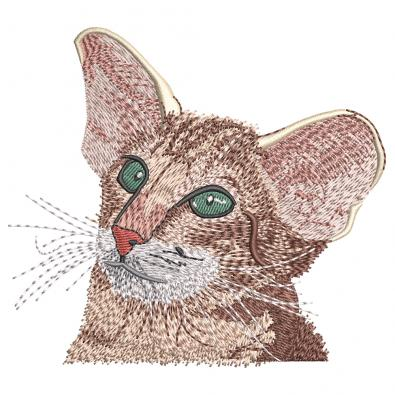 Embroidery Design: Cat