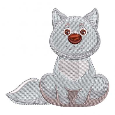 Cre8iveSkill's Embroidery Design Loving Cat
