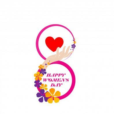 Vector Art:  Happy Women's Day