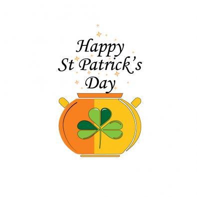 Vector Art: Happy ST Patrick Day