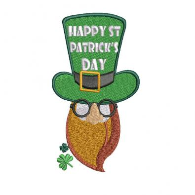 Cre8iveSkill's Embroidery Design: st Patricks Day Hat