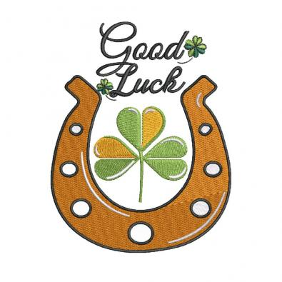Cre8iveSkill's Embroidery Designs Good Luck Patricks