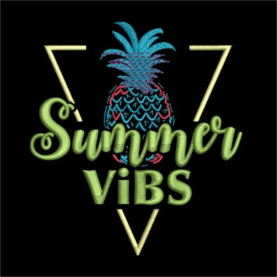 Embroidery Design: Summer Vibes