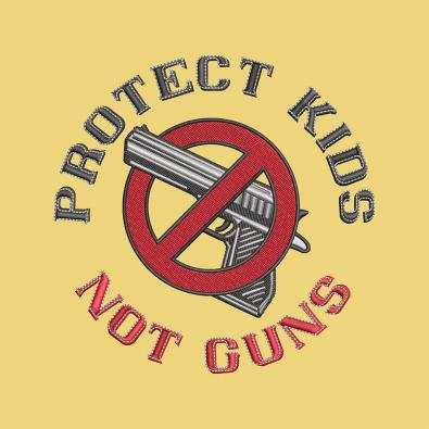 Gun Embroidery Design