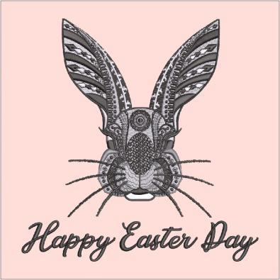 Cre8iveSkill's Embroidery Design Easter Rabbit
