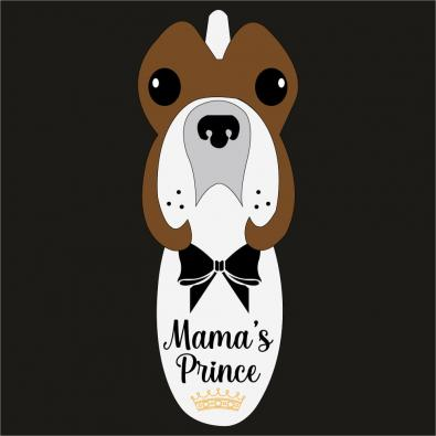 Mama's Prince Vector Art Design