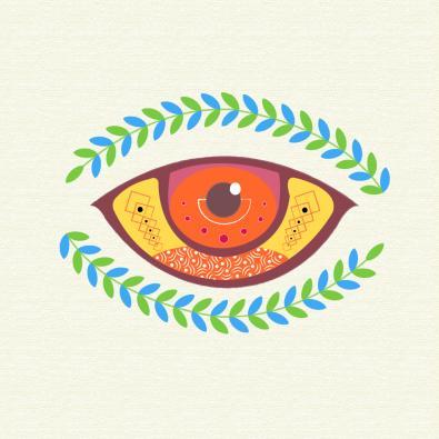 Eye Vector Art Design