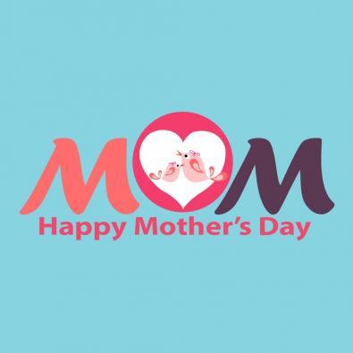 Moms Day Vector Art Design