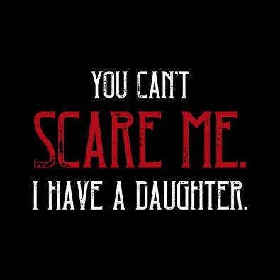 You Can't Scare Me Vector Art Design