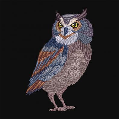 Cre8iveSkill Embroidery Design Adorable Owl