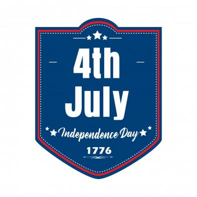 Vector Art 4th of July USA Independence Day