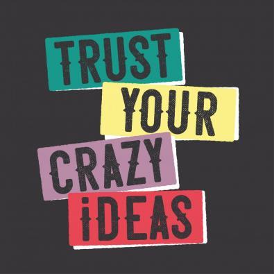Crazy Ideas Vector Art Design