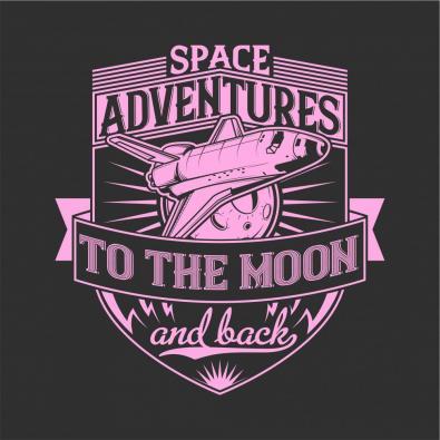 Vector Art Space Adventure