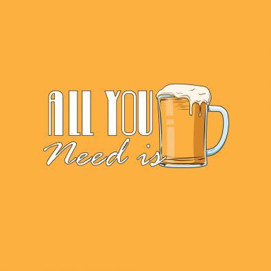 Vector Art Design Beer Mug - Cre8iveSkill