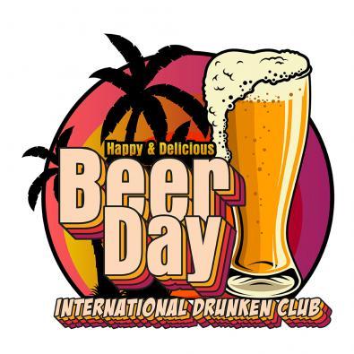 Happy Beer Day Vector Art Design - Cre8iveSkill
