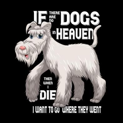 Dogs In Heaven Vector Graphic Design - Cre8iveSkill
