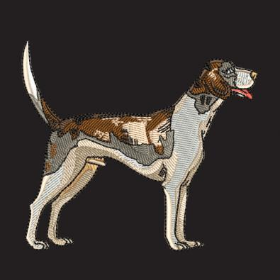 Embroidery Design: German Shorthaired