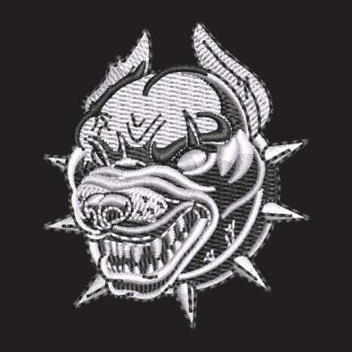 Embroidery Design Scary Dog - Cre8iveSkill