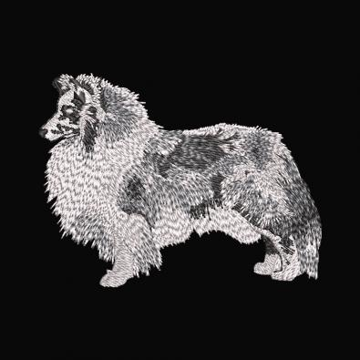 Northern Inuit Dog Embroidery Design - Cre8iveSkill