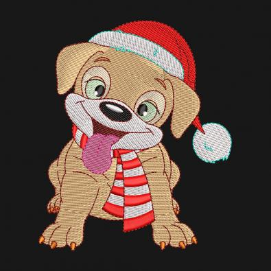 Free Puppy Embroidery Design