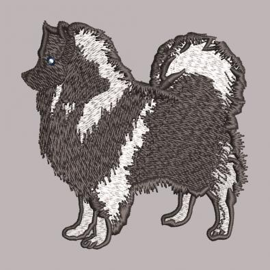 Free Embroidery Design German Spitz - Cre8iveSkill
