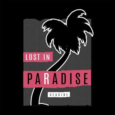 Vector Art Design Lost In Paradise