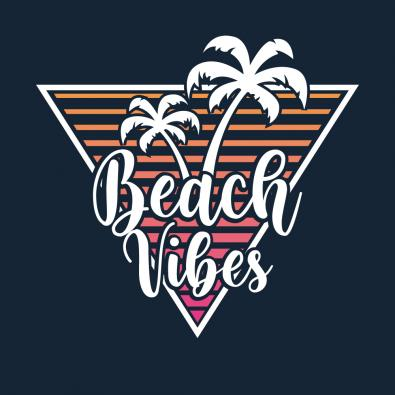 Beach Vibes Vector Graphic Design - Cre8iveSkill